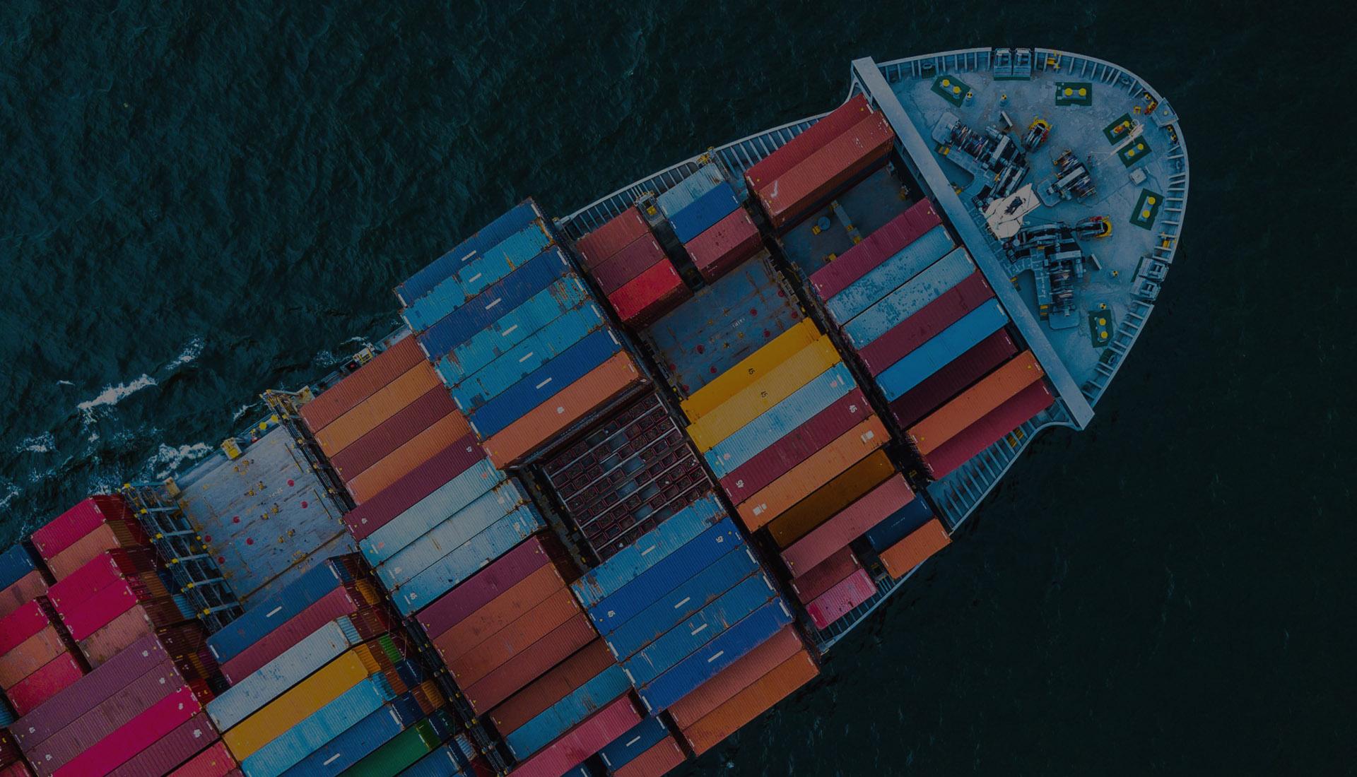 морские перевозки из Китая и США