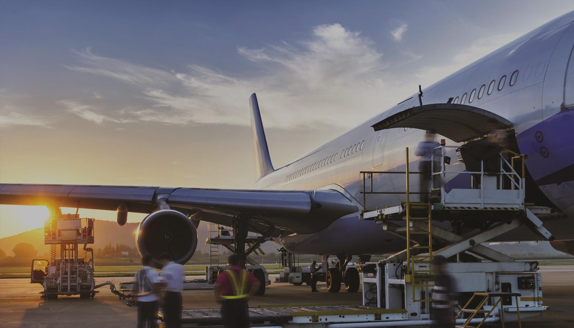 доставка самолетом грузов
